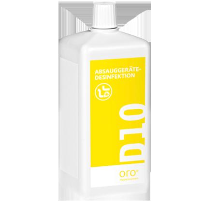 Купить концентрат для дезинфекции аспирационных систем D10, 1 литр