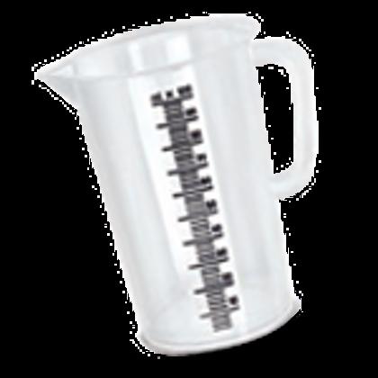 Купить мерный пластиковый стакан, 100 мл.